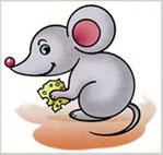 Як намалювати цю чудову мишку знайдеш